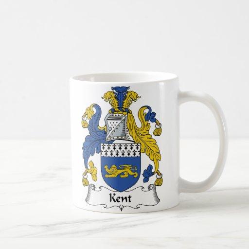 Escudo de la familia de Kent Taza Clásica