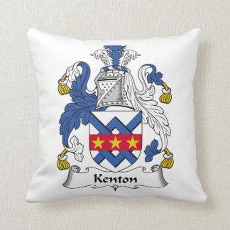 Escudo de la familia de Kenton Almohadas