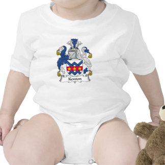 Escudo de la familia de Kenton Camisetas