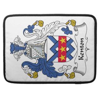 Escudo de la familia de Kenton Funda Macbook Pro
