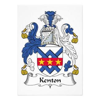Escudo de la familia de Kenton Anuncio Personalizado