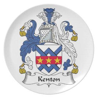 Escudo de la familia de Kenton Plato