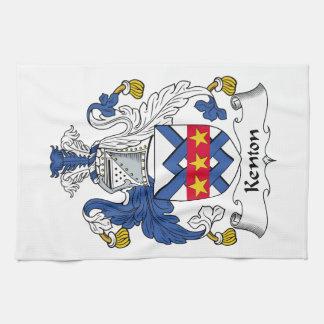 Escudo de la familia de Kenton Toallas
