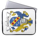 Escudo de la familia de Kenward Funda Portátil