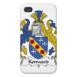 Escudo de la familia de Kenward iPhone 4 Protector