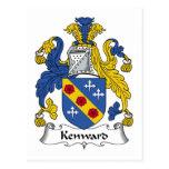 Escudo de la familia de Kenward Postal
