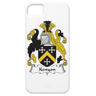 Escudo de la familia de Kenyon iPhone 5 Funda