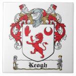 Escudo de la familia de Keogh Azulejos Cerámicos