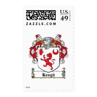 Escudo de la familia de Keogh Sellos