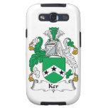 Escudo de la familia de Ker Galaxy SIII Fundas
