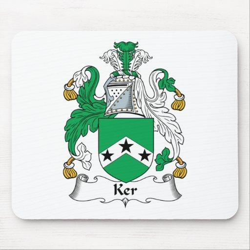 Escudo de la familia de Ker Tapete De Raton