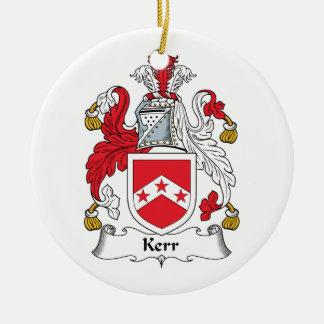 Escudo de la familia de Kerr Ornatos