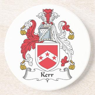 Escudo de la familia de Kerr Posavasos Para Bebidas