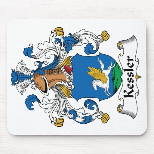 Escudo de la familia de Kessler Tapetes De Ratón