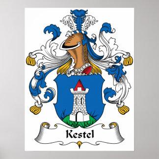 Escudo de la familia de Kestel Impresiones
