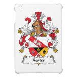 Escudo de la familia de Kester iPad Mini Carcasas