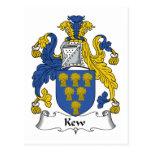 Escudo de la familia de Kew Postal