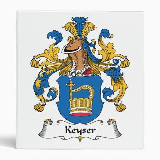 Escudo de la familia de Keyser