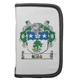 Escudo de la familia de Kidd Planificadores