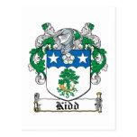 Escudo de la familia de Kidd Postal