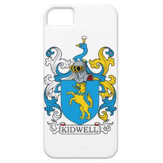 Escudo de la familia de Kidwell iPhone 5 Case-Mate Cárcasa