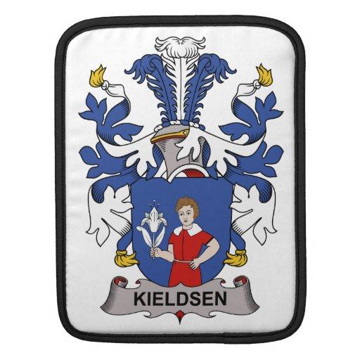 Escudo de la familia de Kieldsen Funda Para iPads