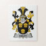 Escudo de la familia de Kielty Puzzle