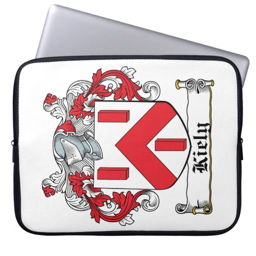 Escudo de la familia de Kiely Fundas Ordendadores