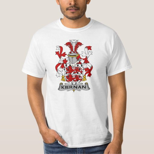 Escudo de la familia de Kiernan Camisas