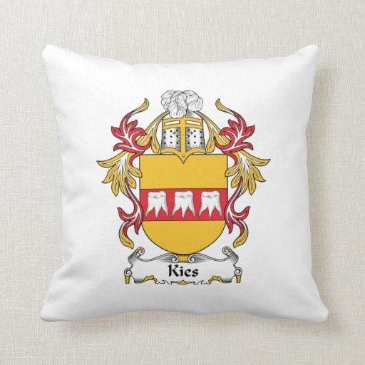 Escudo de la familia de Kies Cojines