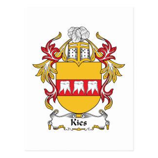 Escudo de la familia de Kies Postal