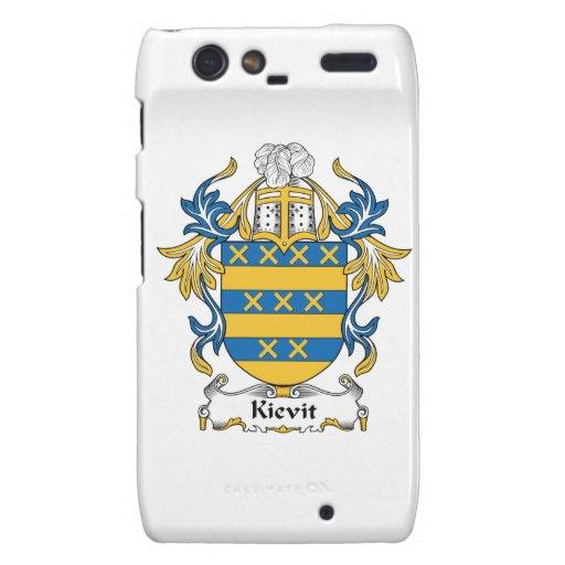 Escudo de la familia de Kievit Droid RAZR Funda