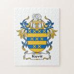 Escudo de la familia de Kievit Rompecabeza Con Fotos