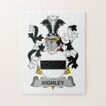 Escudo de la familia de Kighley Puzzle Con Fotos