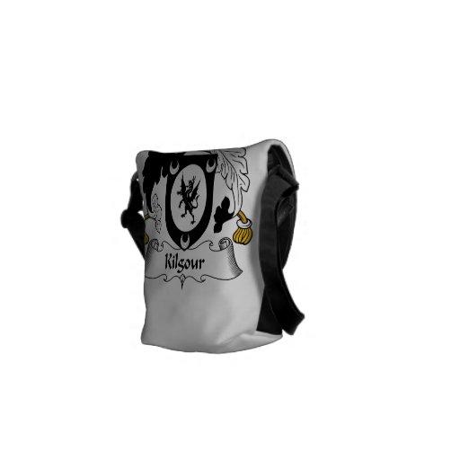 Escudo de la familia de Kilgour Bolsas De Mensajeria