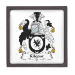 Escudo de la familia de Kilgour Cajas De Regalo De Calidad