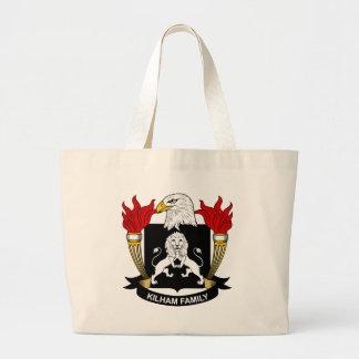 Escudo de la familia de Kilham Bolsas De Mano
