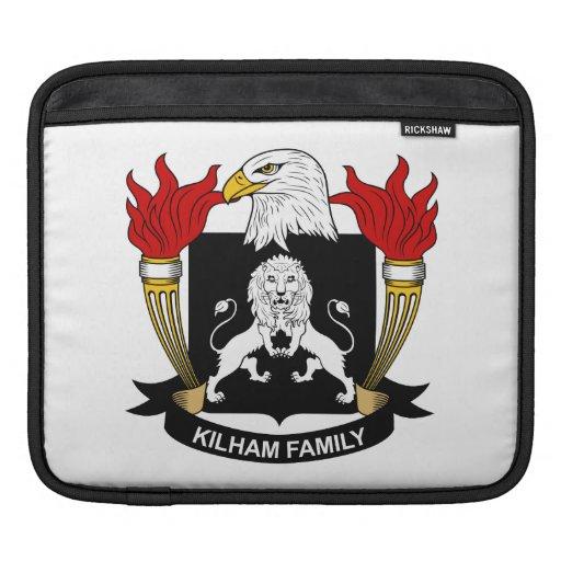 Escudo de la familia de Kilham Funda Para iPads