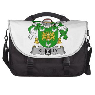 Escudo de la familia de Kilkelly Bolsas De Portatil