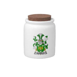 Escudo de la familia de Kilkelly Jarras Para Caramelos