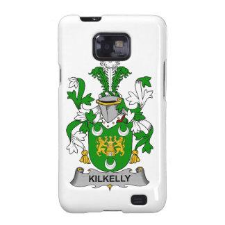 Escudo de la familia de Kilkelly Galaxy S2 Fundas