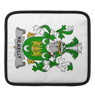 Escudo de la familia de Kilkelly Fundas Para iPads
