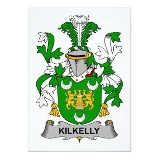 Escudo de la familia de Kilkelly Invitación Personalizada