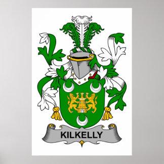 Escudo de la familia de Kilkelly Posters