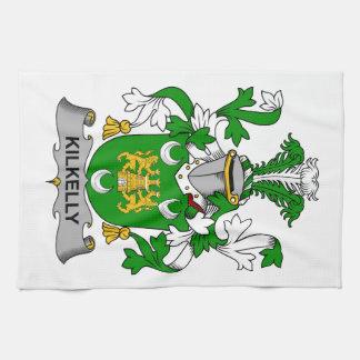 Escudo de la familia de Kilkelly Toallas