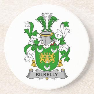 Escudo de la familia de Kilkelly Posavasos Para Bebidas