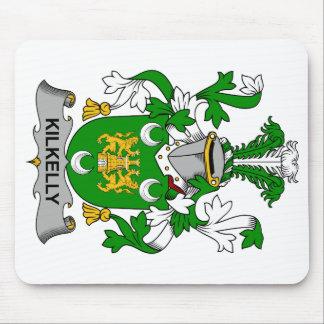 Escudo de la familia de Kilkelly Alfombrilla De Ratón