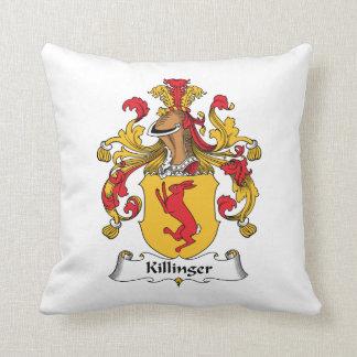Escudo de la familia de Killinger Cojín