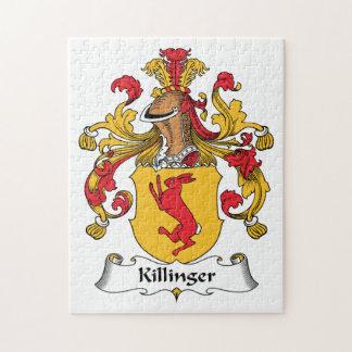 Escudo de la familia de Killinger Rompecabeza Con Fotos