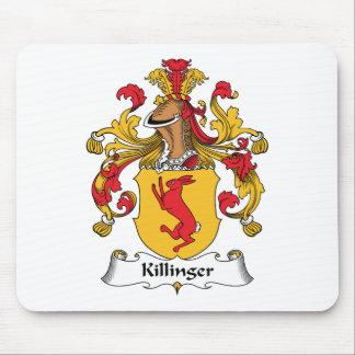 Escudo de la familia de Killinger Tapete De Ratón